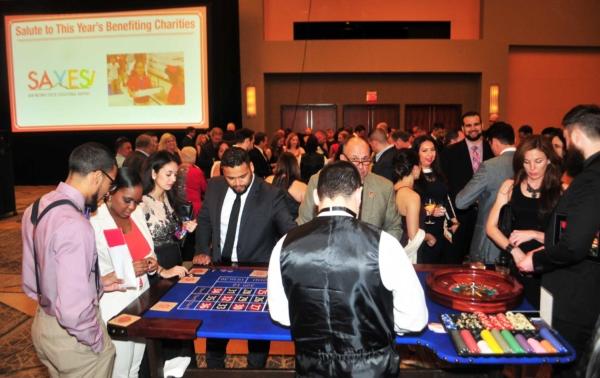 Casino games at the 2017 Kings & Queens of Good Hearts Fun-Raiser