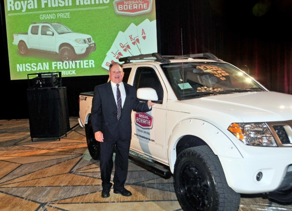 Nissan of Boerne's winner with Frontier Truck