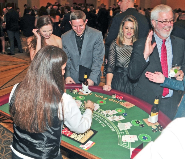 Guests playing Black Jack
