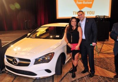 Mercedes car winners at the 2017 Kings & Queens of Good Hearts Fun-Raiser