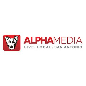 Alpha Media logo