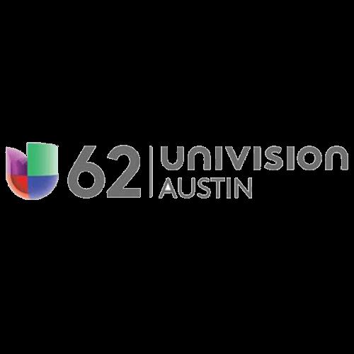 Univision 62 Austin logo